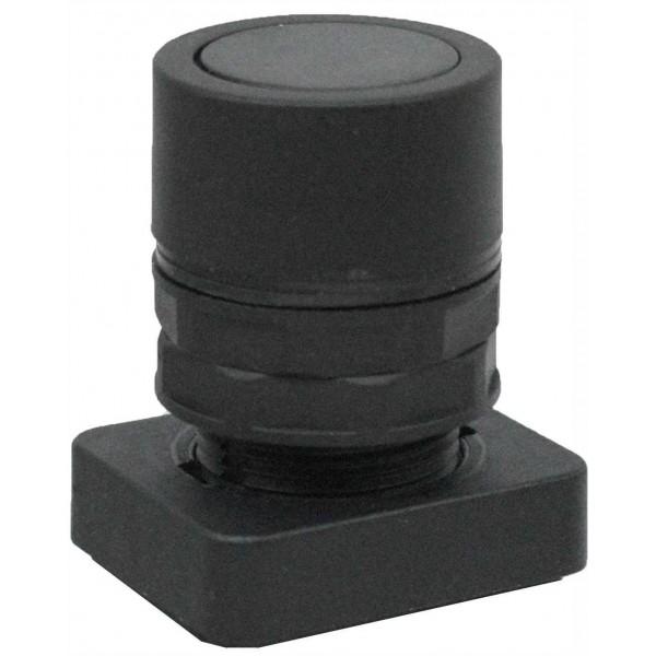 Accesoriu tip buton ingropat culoare neagra