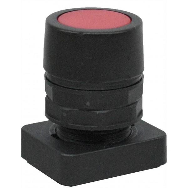 Accesoriu tip buton ingropat culoare rosie