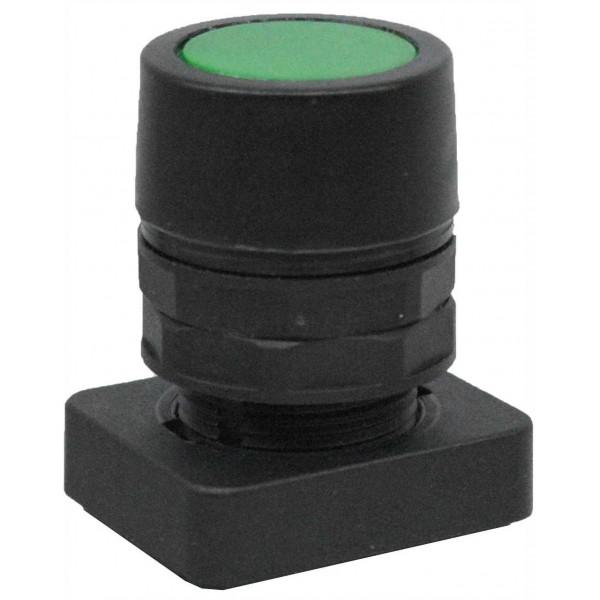Accesoriu tip buton ingropat culoare verde