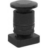 Accesoriu buton tip ciuperca culoare neagra