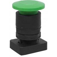 Accesoriu buton tip ciuperca culoare verde