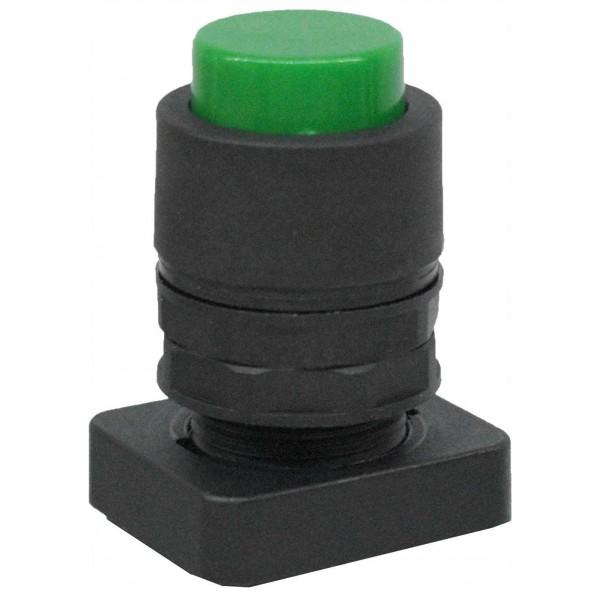 Accesoriu tip buton in relief culoare verde