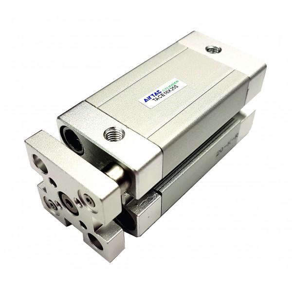 Cilindru pneumatic compact antirotatie dubla actionare seria ACE cu magnet Ø12 Cursa 10 mm